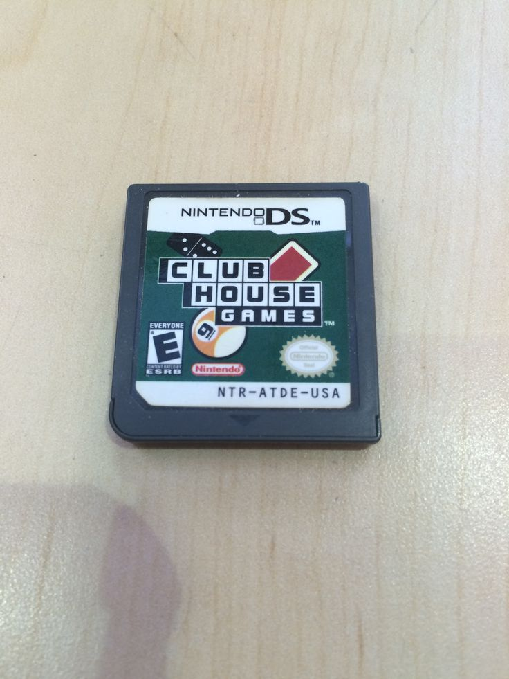 "Club House Games (Nintendo DS) Clubhouse Games is a collection of more than 20 traditional board, rec room, and card titles, each playable with up to seven other players via Wi-Fi Connection. Part of Nintendo's ""Touch Generations"" lineup of DS software designed for casual gamers, Clubhouse Games bundles together such favorites as checkers, darts, poker, hearts, spades, bowling, backgammon, bridge, and chess. Three solo modes include Free Play, where users pick a specific game, Stamp, which…"
