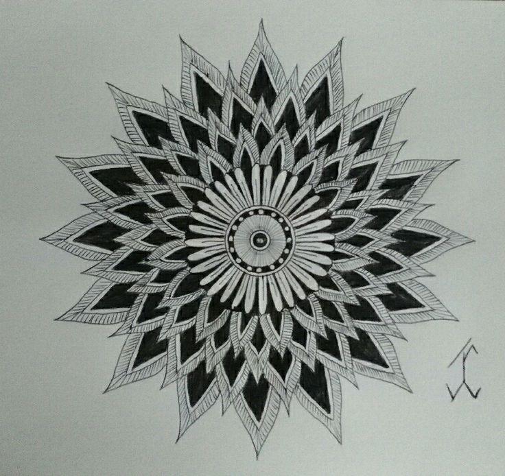 ShapeFlower04 #followewrs #instagram  #zentangle #3d #drawing #draw #pen #art  #ink #inkwork #zentangles #zentangleart #shape #shapes #mandala #mandalas