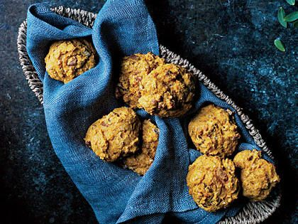 Pecan-Pumpkin Drops | Win the hearts—and appetites—of friends and family with fresh-baked biscuits, rolls, and loaves of bread. With flavors that are sure to be heartwarming, fresh, and completely delicious, these homemade breads rival those of even the best bakery. Your home will smell fantastic and your guests will certainly thank you.