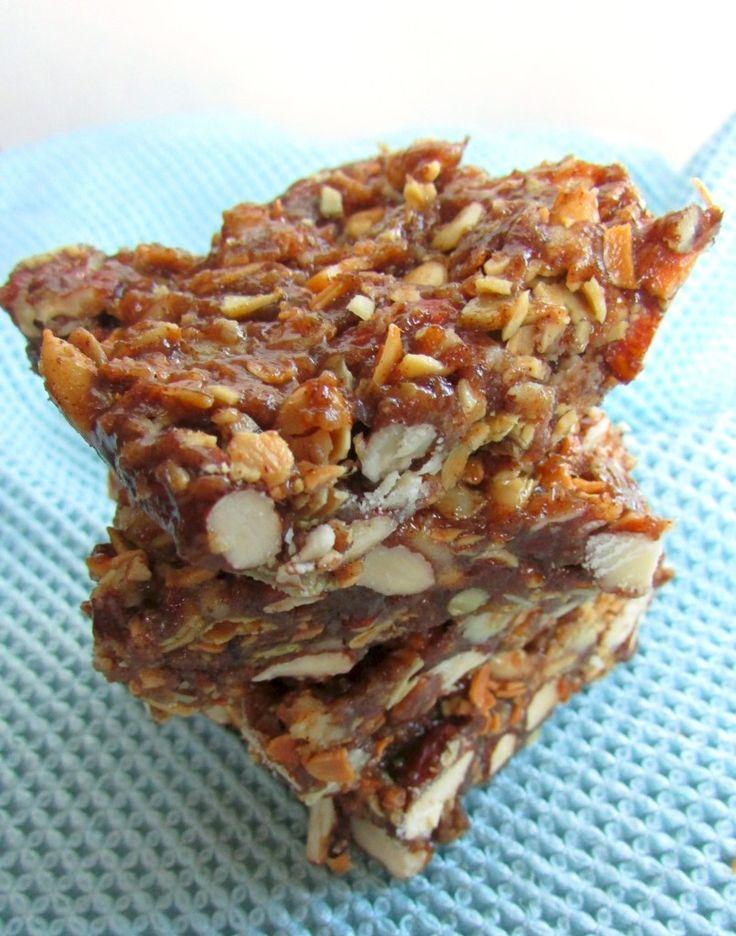No Bake Nut & Seed Bars #VeggieStaples