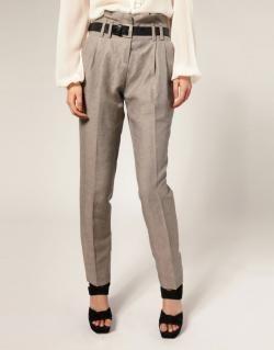 Льняные брюки женские выкройка