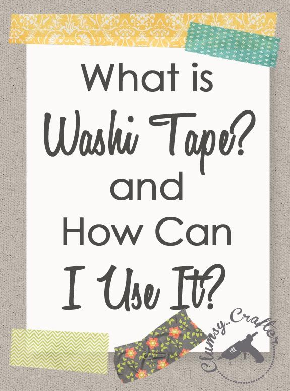 What is Washi Tape Uses for Washi Tape