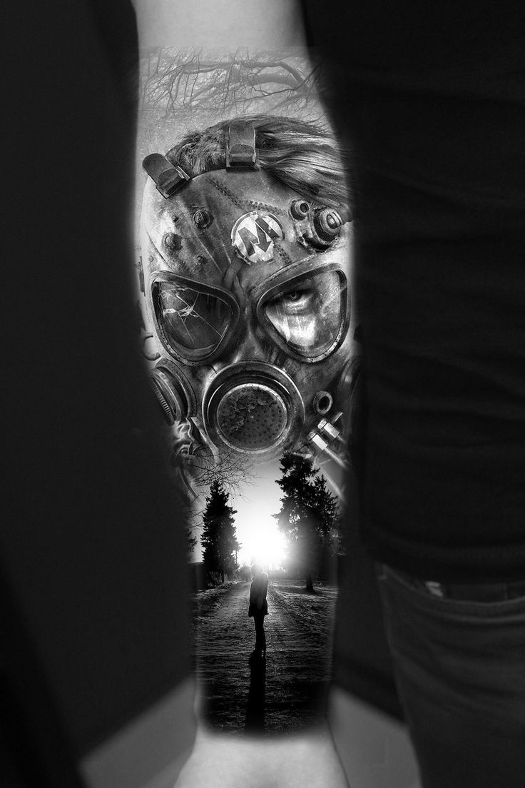 44 best gas mask tattoos collection - Gas Masks Dark Art Apocalypse Tattoo Gas Mask Tattoo Fantasy Art Fallout Cosplay Water Girl Post Apocalyptic Fashion Raiders