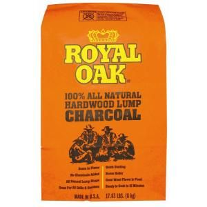 if you have a big green egg like @Christopher Tuff you need to think about saving money on your charcoal http://thd.co/1jvixMs Royal Oak 100% All Natural Hardwood Lump Charcoal 17.6 lbs.-195228017 at The Home Depot