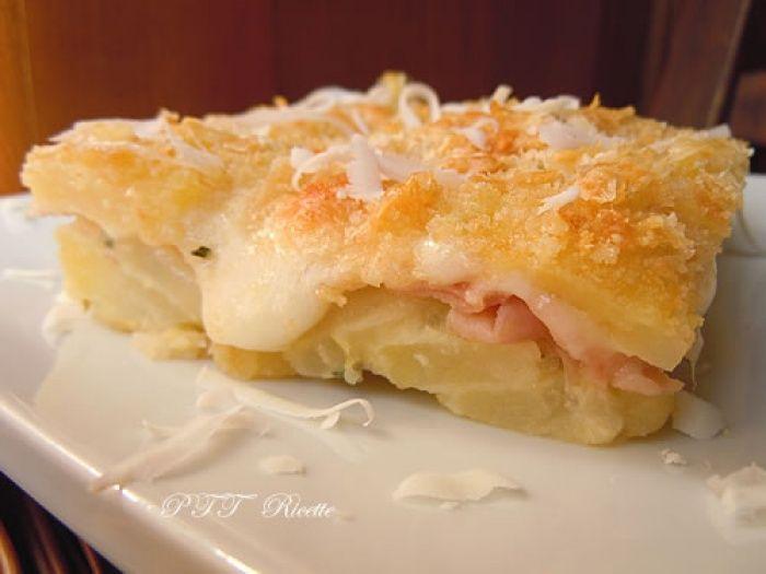 Tortino di patate al forno | Ricetta