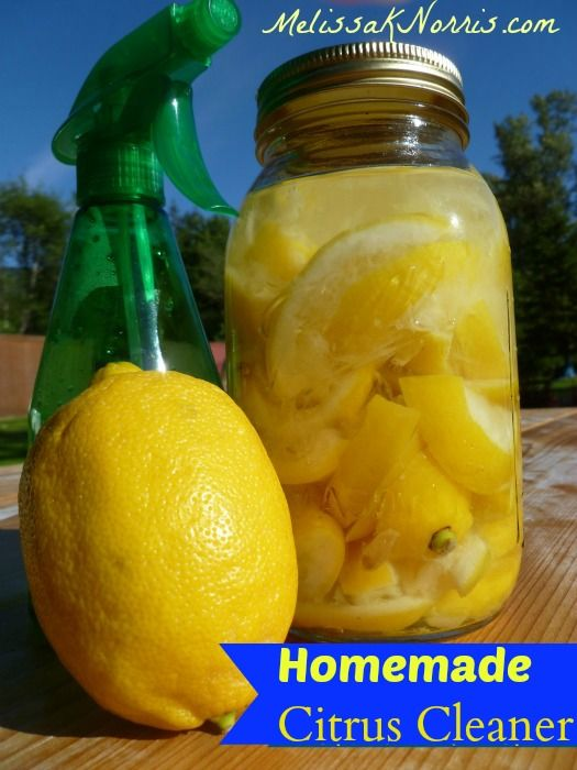 Pioneering Today-Homemade Citrus Cleaner Knowing how to keep your home clean without nasty chemicals is essential to preparedness. Plus, it's frugal, easy, and really works. We use this all around the house.