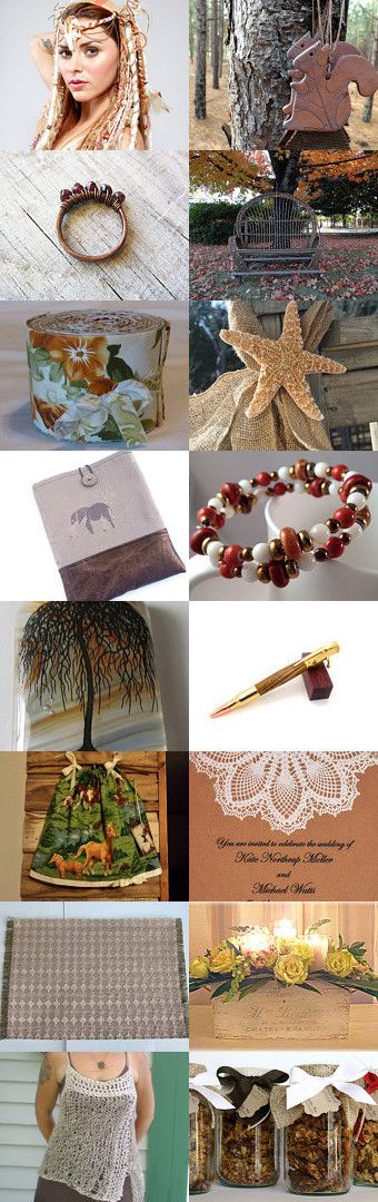 Earthy by Sarah Bennett on Etsy--Pinned with TreasuryPin.com