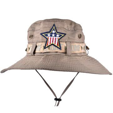 Mens Outdoor Fishing Camping Bucket Hats Women Ladies Wide Brim Sun Caps at Banggood