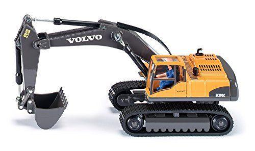 Siku - 3535 - Véhicule Miniature - Modèle À L'Échelle - Excavateur Hydraulique Volvo Ec 290 - Métal - Echelle 1/50: Cet article Siku - 3535…