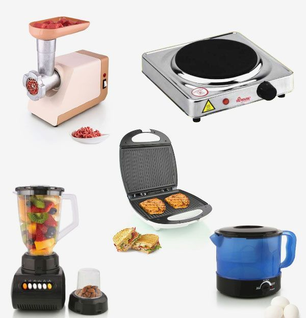 [Bundle Offer] He-House Single Hot Plate + 2in1 Egg Boiler + 2in 1 Blender…