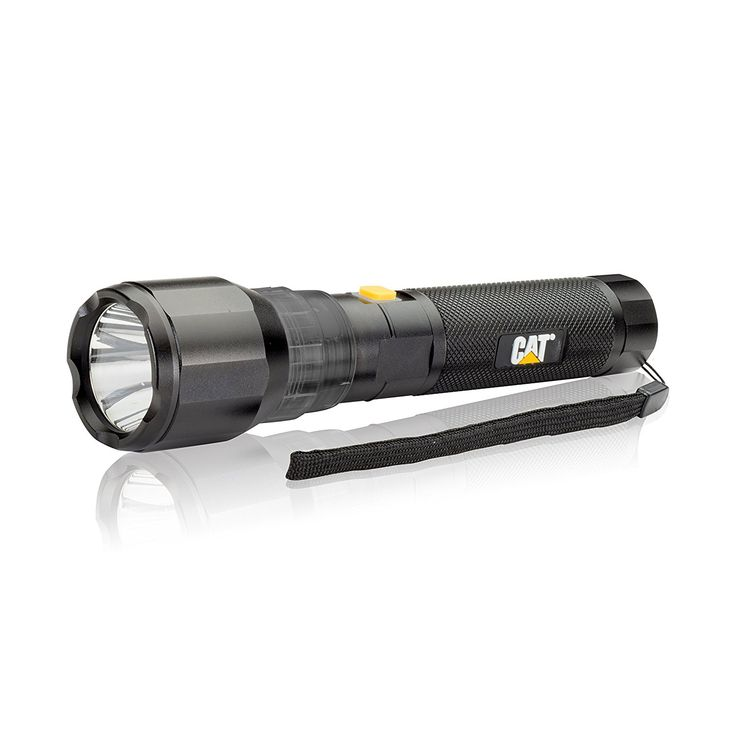 Cat CT1105 570 Lumen Rechargeable High Power Flashlight with CREE LED Technology Features a Battery Charge Level Indicator (Black) >>> Check out this great product.