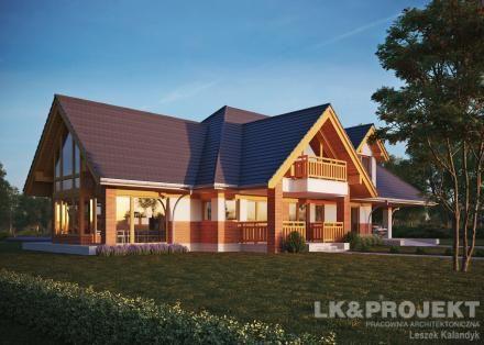 Projekty domów LK Projekt LK&1278 zdjęcie wiodące