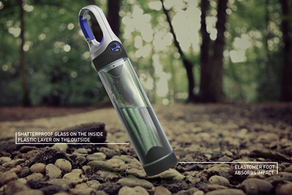 Portable Water Bottle Lamps - The Bottlelight Combines Two Essentials to Make Something Powerful (GALLERY)