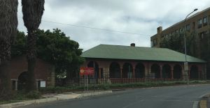 Surviving building from the Fever Hospital, Braamfontein 2015