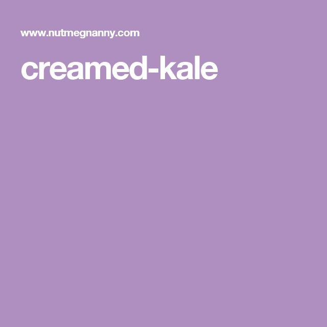 creamed-kale