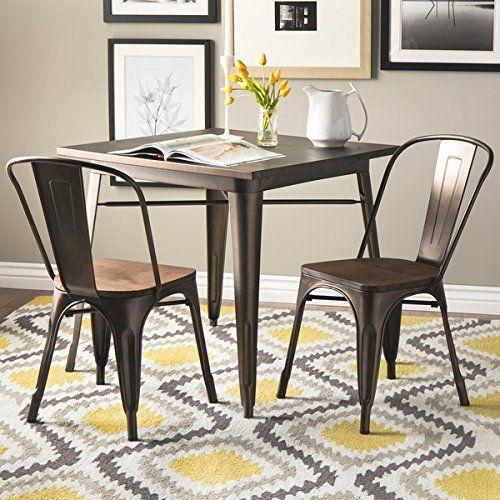 Tabouret Vintage Wood Seat Bistro Chair | Furniture 6 | Pinterest | Bistro  Chairs, Vintage Wood And Woods