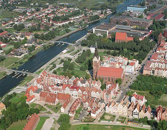 Эльблонг. Польша