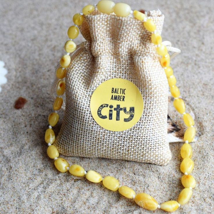 Baby Amber Necklace / Baltic Amber / Children, Girls and Boys necklace #Handmade #Necklace