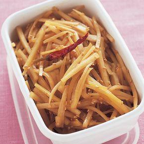 大根の皮のきんぴら | 石原洋子さんのきんぴらの料理レシピ | プロの簡単料理レシピはレタスクラブネット