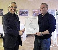 Jörg Kreus aus Aachen ist Franchisenehmer des Jahres 2011. Franchise Direkt gratuliert und wünscht weiterhin viel Erfolg.