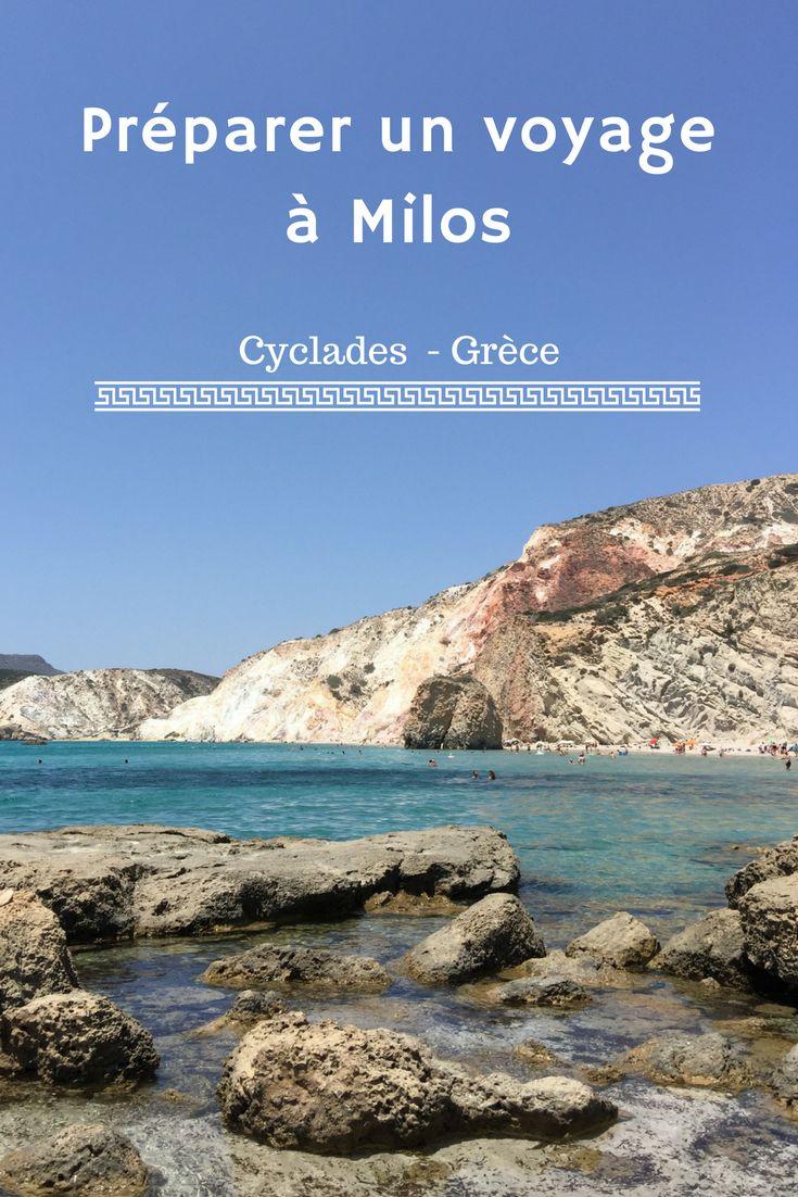 Ou loger, que faire à Milos, quelles sont les plus belles plages ? Suivez le guide