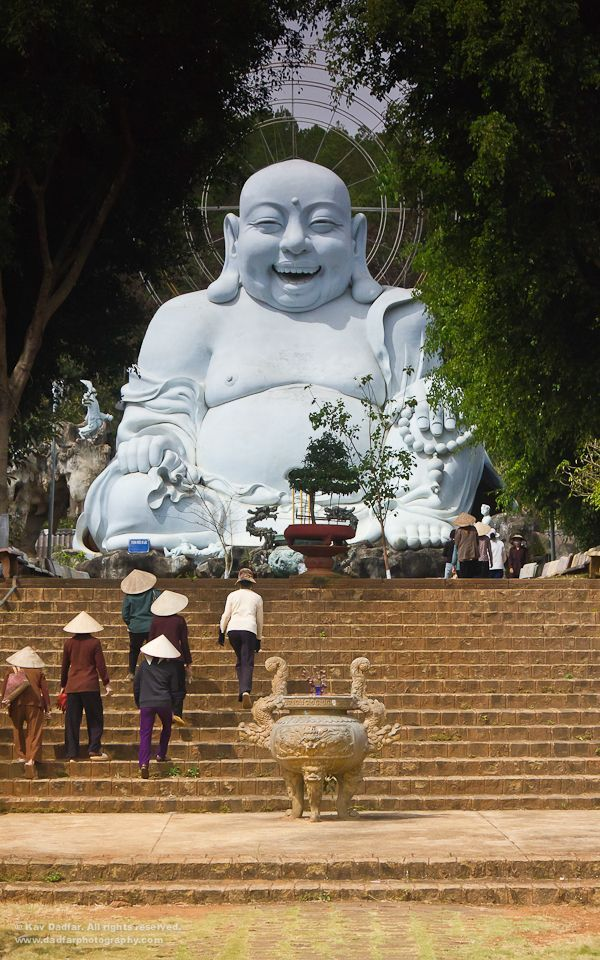 Giant Buddha, Dalat, Vietnam