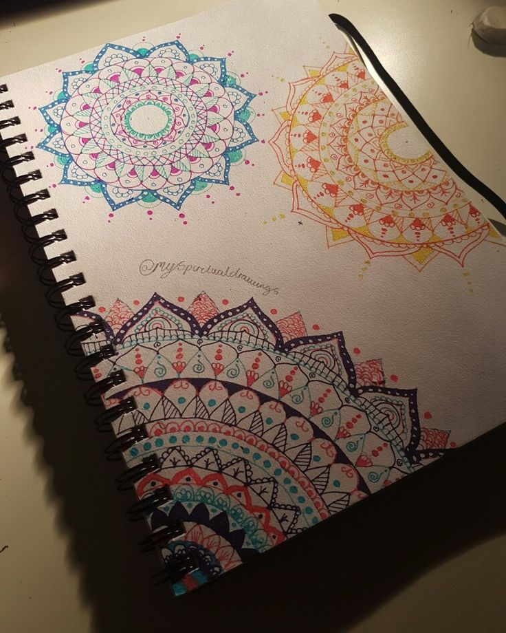 First colour drawing #mandala #art #drawings #pretty #henna #design #indian #spiritual #followforfollow