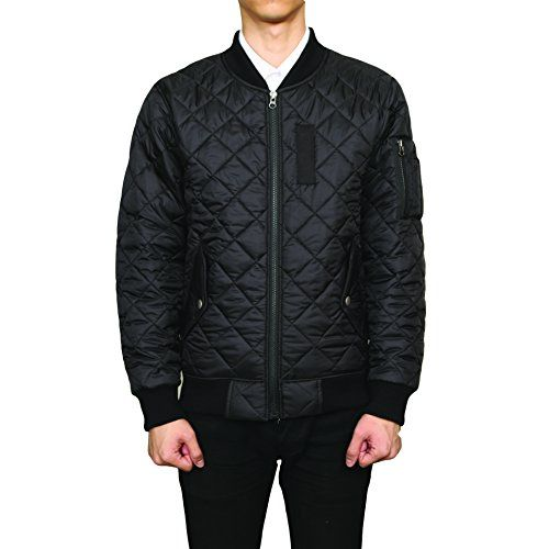 Majeclo Men's Premium Quilted Lightweight MA-1 Flight Bom... http://a.co/cprBQ5e