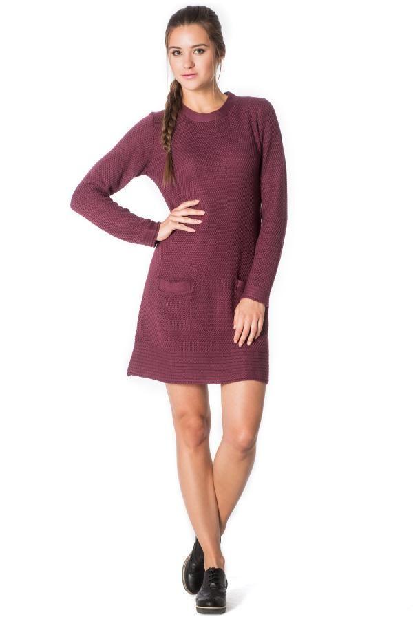 Φόρεμα πλεκτό με τσέπες 3