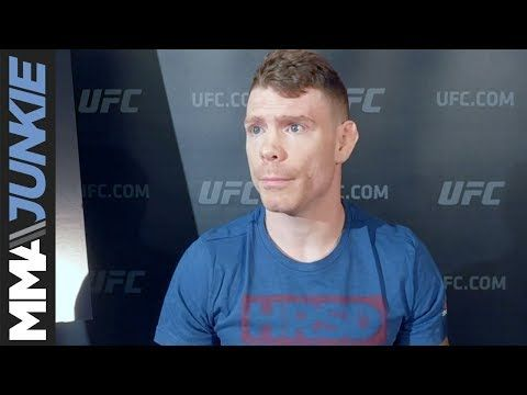 MMA UFC Fight Night 113 media day full scrum: Paul Felder