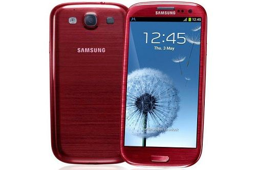 Samsung Galaxy S III Garnet Red Now Available on Amazon