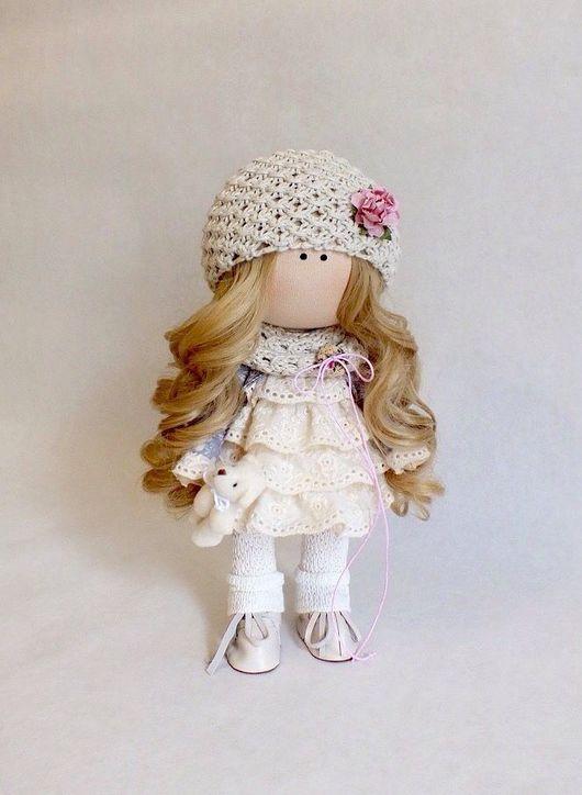 Куклы тыквоголовки ручной работы. Ярмарка Мастеров - ручная работа. Купить Кукла Текстильная Интерьерная (1). Handmade. Кукла
