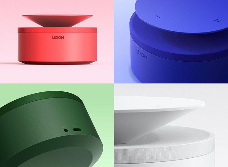 blossom 360 lexon bebop speaker designboom                                                                                                                                                                                 More