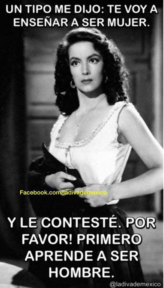 ay, Maria Félix!! I love your quotes!!!