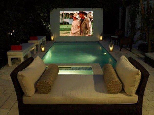 13 best Outdoor movie screens images on Pinterest | Outdoor cinema ...