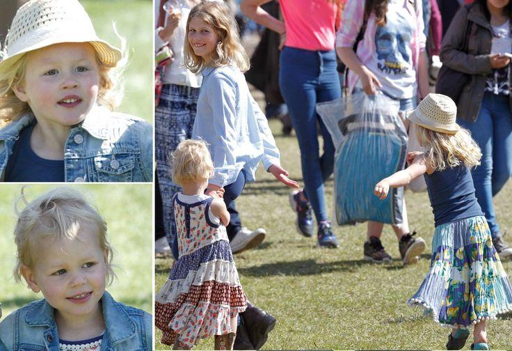Todas las bisnietas de la reina Isabel se parecen... ¿Charlotte de Cambridge también?