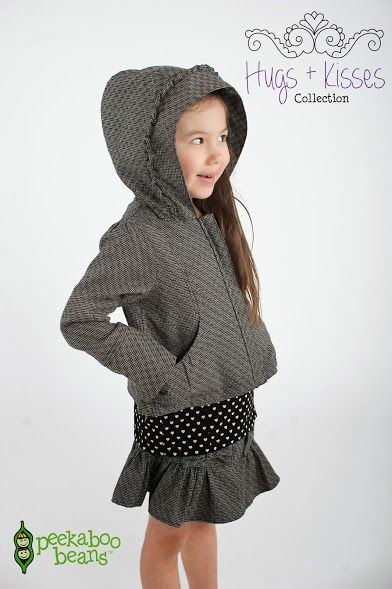 Peekaboo Beans winter Hugs + Kisses collection. | playwear for kids on the grow! | www.peekaboobeans.com/chantalcp