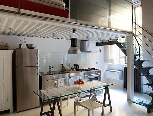 Mini loft con altillo altillos pinterest mini loft - Ideas para loft ...