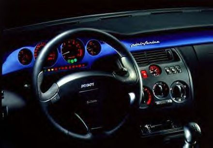 Interior of the Coupe Fiat
