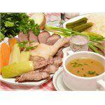 Тройной Царский бульон и мясное ассорти - лучше для закуски не найти