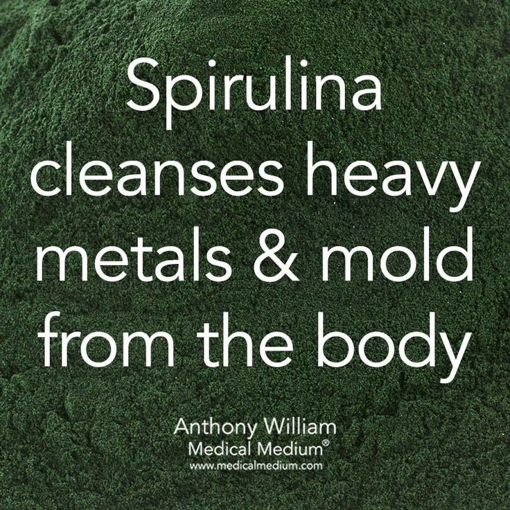 I'm such an advocate of Spirulina!  Been taking it since junior high school!