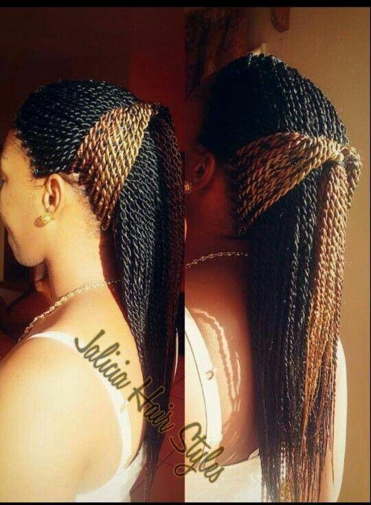 Single braids, twists