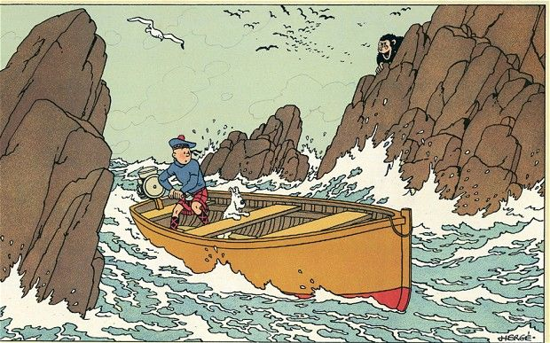 From Hergé and the Treasures of Tintin