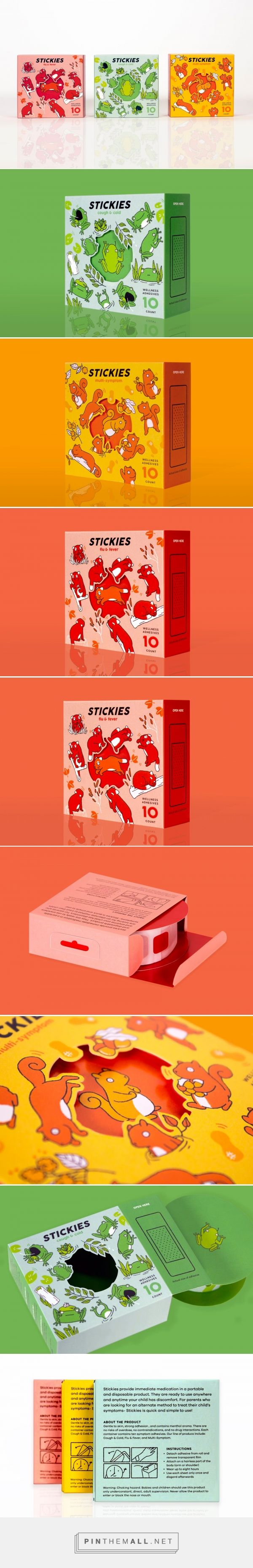Stickies (Concept) - Packaging of the World - Creative Package Design Gallery - http://www.packagingoftheworld.com/2017/05/stickies-concept.html