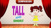 Short or Tall (Sing & Read Math Literacy Series) - YouTube
