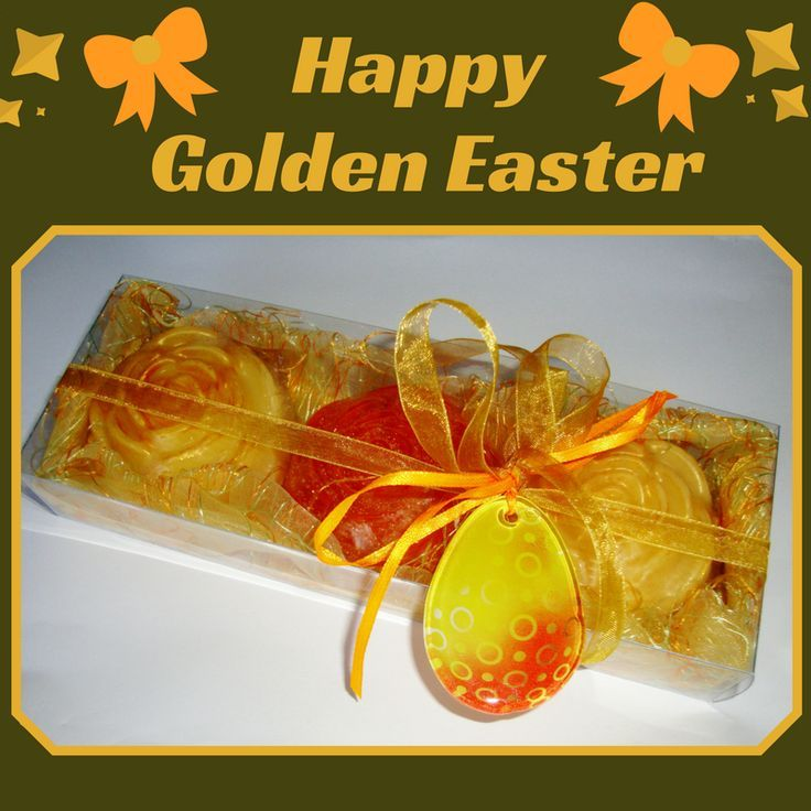 The perfect choice for sending your Easter wishes, this stunning Easter Gift Set, with three Luxury Floral Scented Soaps and a special handmade glass decorative Yellow-Orange Easter Egg in the packaging. An inspired gift to suit all ages, ideal for friends or family members, for your boss, your doctor, your nurse, for everyone. Don't miss it - there is only this one!