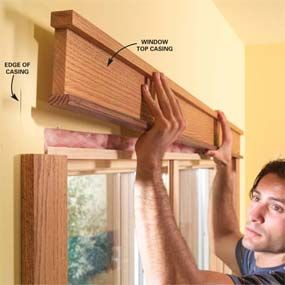 Craftsman Window Trim | Craftsman trim molding around picture window | DIY