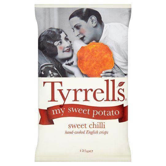 Tyrells Sweet Potato Sweet Chilli Crisps 125G - Groceries - Tesco Groceries