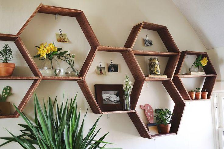 Honeycomb Shelves-detail