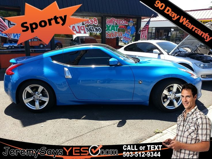 2011 NISSAN 370z For Sale at JeremysaysYES.comCars for Sale Buy Here Pay Here Car Lots Bad Credit Car Loans Buy Here Pay Here